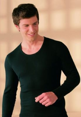 Men's Angora Long Sleeved Thermal Top | Totally Warm